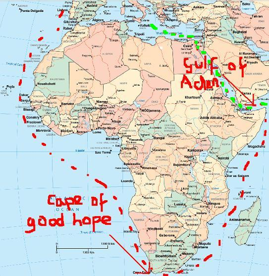 Gulf of good hope