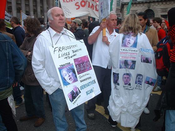 FT AV - protest