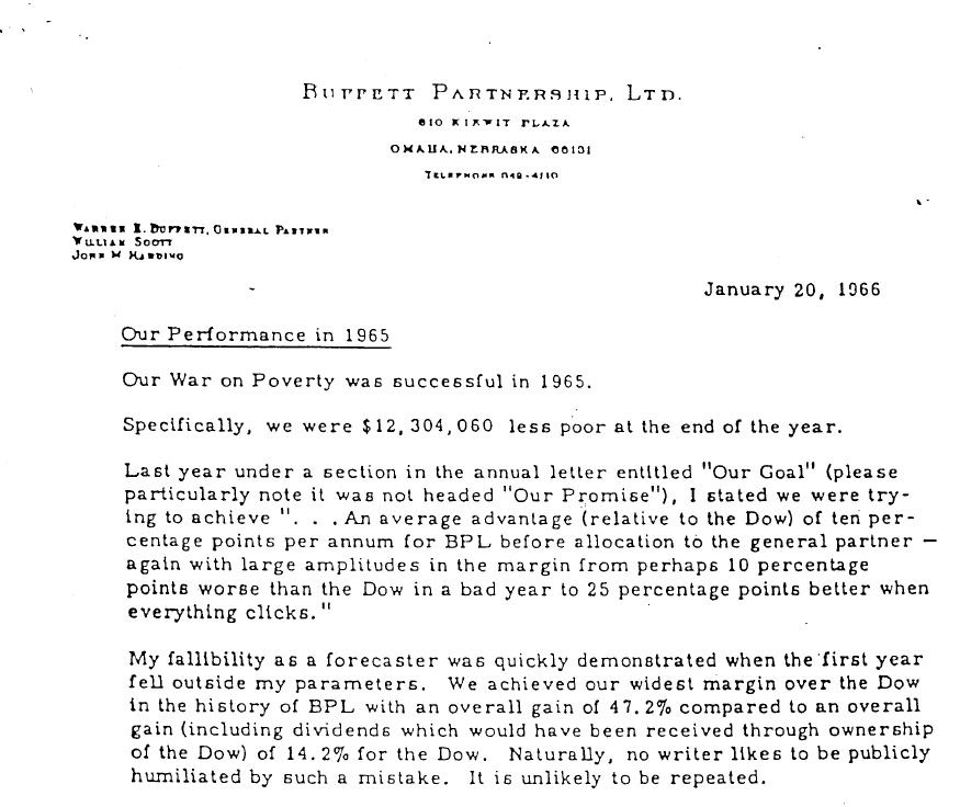 Climateer Investing Warren Buffett s 50th Anniversary Letter to