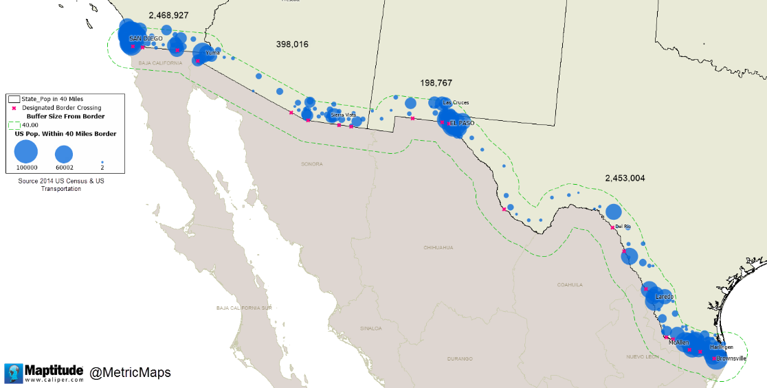 The Mexico Border Bringing Power To The People Would Likely Require Construction Of An Interstate Electricity Transmission Superhighway